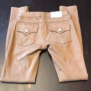 True Religion brown jeans